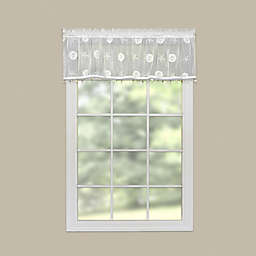 Heritage Lace® Sand Dollar Window Valance in White