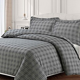 Tribeca Living Savannah Flannel Duvet Cover Set