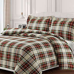Red Plaid Duvet Cover Bed Bath Beyond