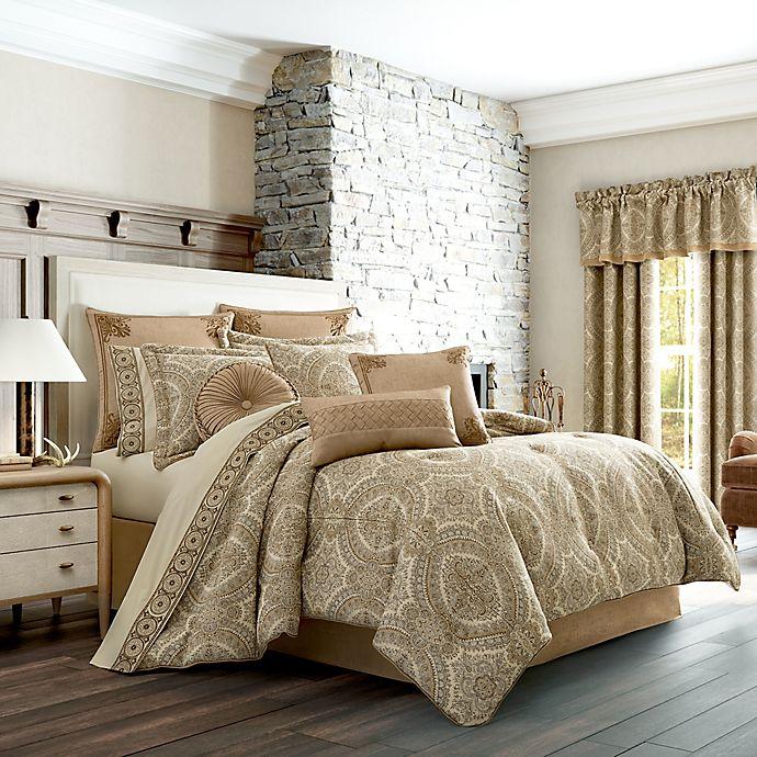Alternate image 1 for J. Queen New York Sardinia 4-Piece California King Comforter Set in Gold