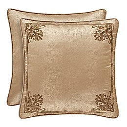 J. Queen New York™ Sardinia European Pillow Sham in Gold