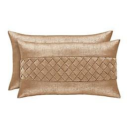 J. Queen New York™ Sardinia Boudoir Throw Pillow in Gold