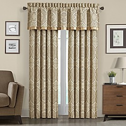 J. Queen New York™ 84-Inch Sardinia Window Curtain Panel in Gold