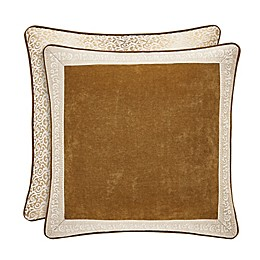 J. Queen New York™ Gianna European Pillow Sham in Gold