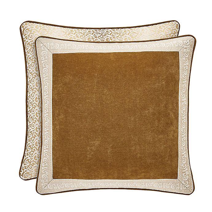 Alternate image 1 for J. Queen New York™ Gianna European Pillow Sham in Gold