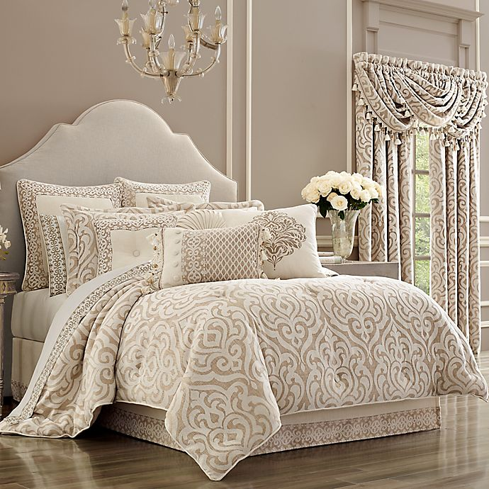 Alternate image 1 for J. Queen New York™ Milano California King Comforter Set in Sand