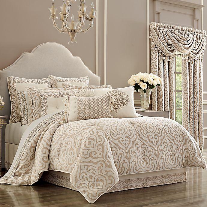 Alternate image 1 for J. Queen New York™ Milano Queen Comforter Set in Sand
