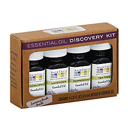 Aura Cacia® 4-Piece Essential Oil Discovery Kit