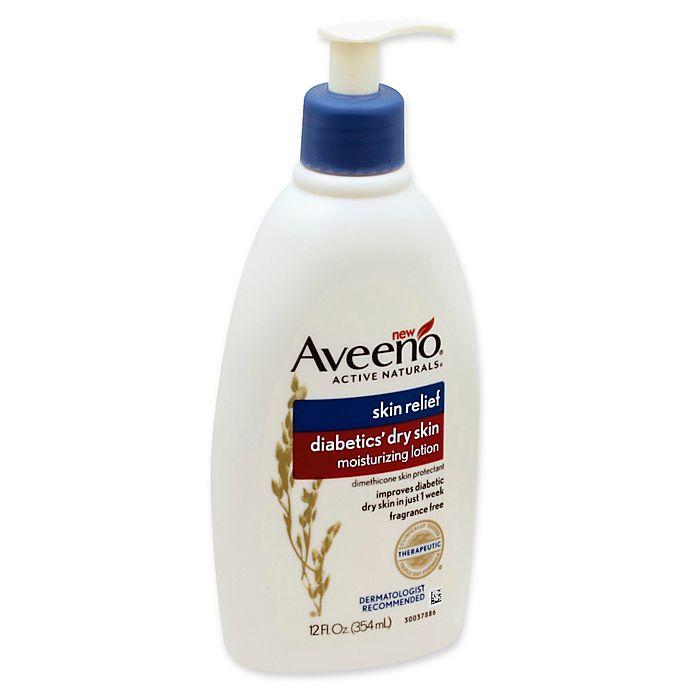 Aveeno Active Naturals 12 Fl Oz Skin Relief Diabetics Dry