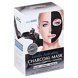 BioMiracle 5-Pack Luxury Activating Charcoal Mask
