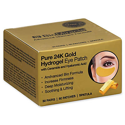 BioMiracle 30-Count Pure 24K Gold Hydrogel Eye Mask Patch