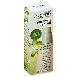 Aveeno® Positively Radiant® 2.5 fl. oz. Sheer Daily Moisturizer SPF 30