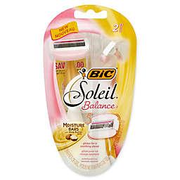 Bic® Soleil® Balance® 2-Count 5 Blade Disposable Razor for Women