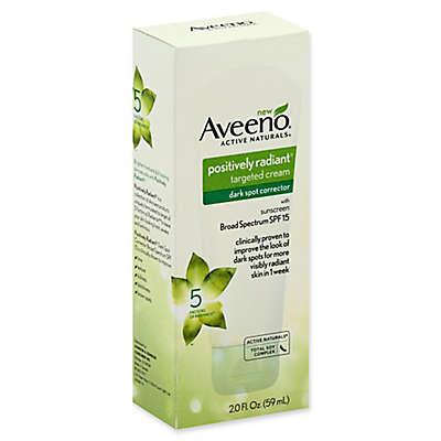 Aveeno® Positively Radiant® 2 fl. oz. Targeted Dark Spot Cream with SPF 15