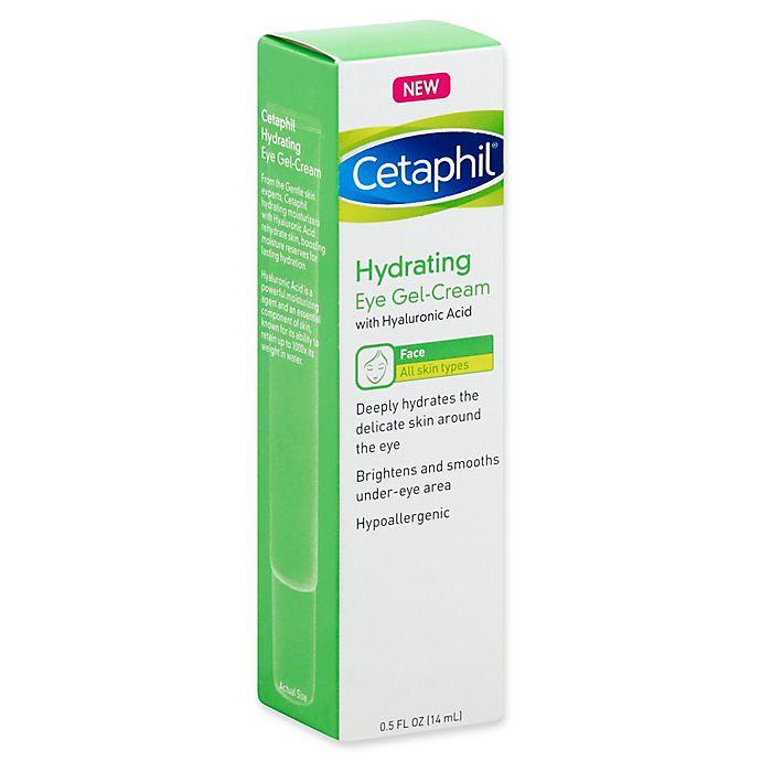 Alternate image 1 for Cetaphil® .5 fl. oz. Hydrating Eye Gel-Cream