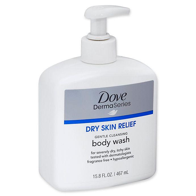 Dove 15 8 Fl Oz Dermaseries Gentle Dry Skin Relief Body Wash Fragrance Free Bed Bath Beyond