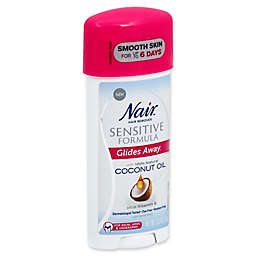 Nair™ 3.3 oz. Glides Away Sensitive Formula Hair Remover with Coconut Oil