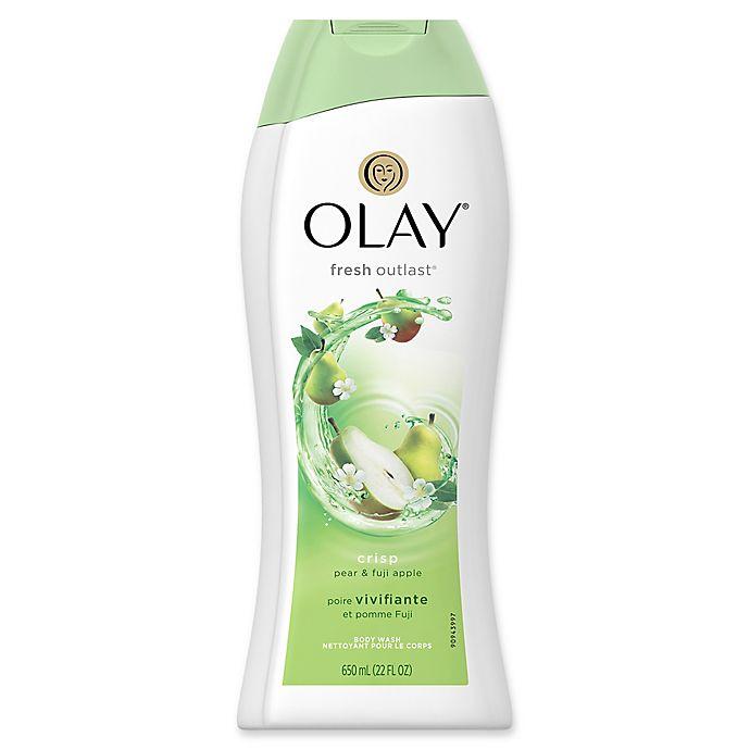 Alternate image 1 for Olay® Fresh Outlast® 22 fl. oz. Crisp Pear and Fuji Apple Body Wash