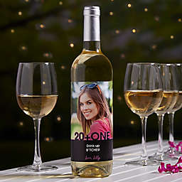 Any Occasion Photo Personalized Wine Bottle Label