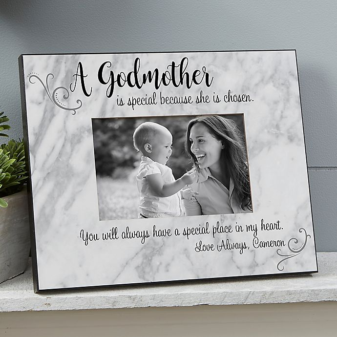 Alternate image 1 for Godparent Personalized Picture Frame