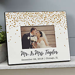 Sparkling Love Personalized Wedding Picture Frame
