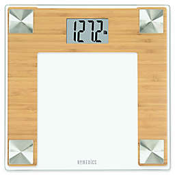 HoMedics® Bamboo Digital Bathroom Scale