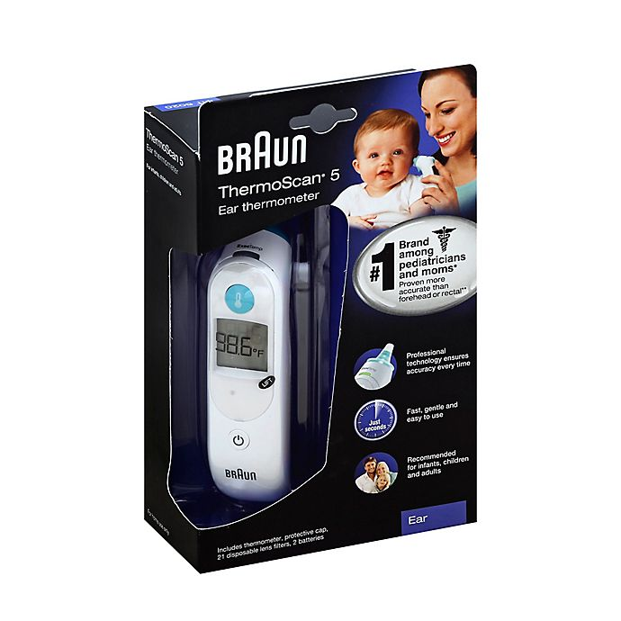 Alternate image 1 for Braun® Thermoscan 5 Ear Thermometer