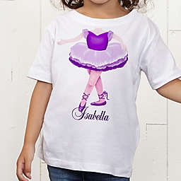 I Want To Be Personalized Girl Toddler T-Shirt