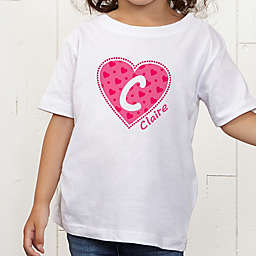 She's All Heart Personalized Toddler T-Shirt