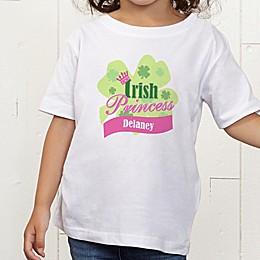 Little Irish Princess Personalized Toddler T-Shirt