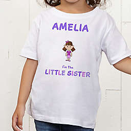 Sister Character Personalized Toddler T-Shirt