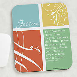 Inspirational Faith Personalized Mouse Pad