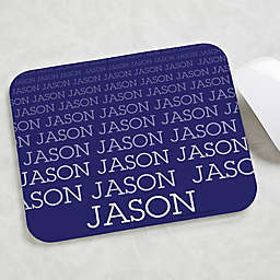 Optic Name Personalized Mouse Pad