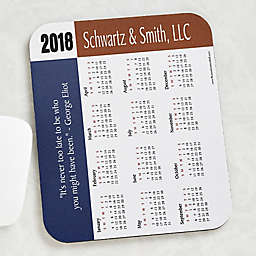 35 Quotes Calendar Personalized Mouse Pad