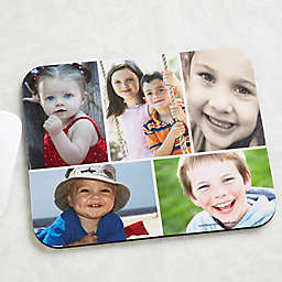 Photo Collage Personalized Mouse Pad- Horizontal
