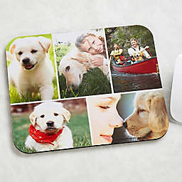 Pet Photo Collage Personalized Mouse Pad