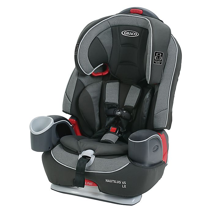 Alternate image 1 for Graco® Nautilus™ 65 LX 3-in-1 Harness Booster Car Seat in Black