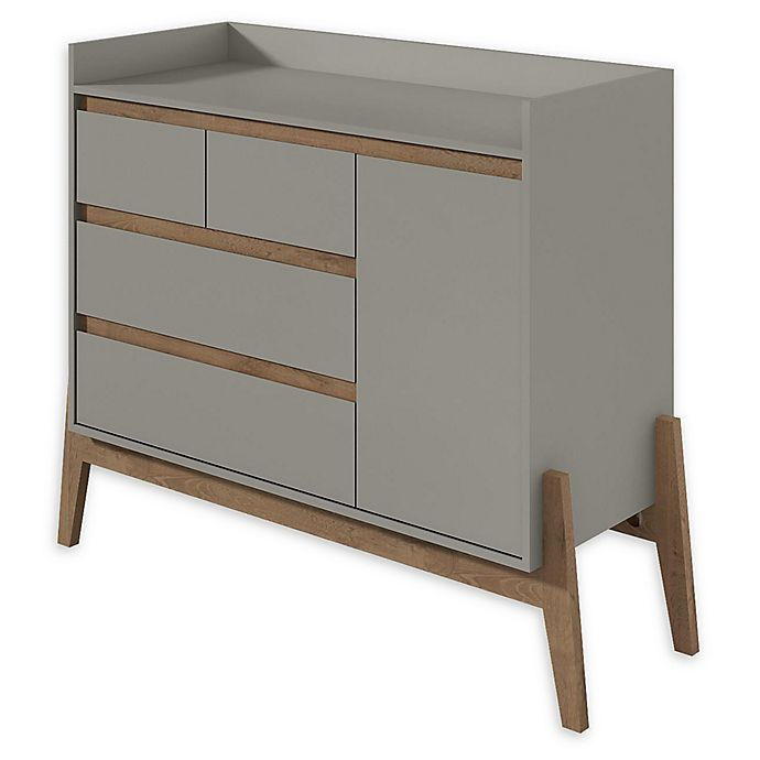 Alternate image 1 for Manhattan Comfort Essence Dresser in Grey