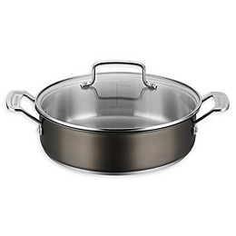 Cuisinart® Stainless Steel 4 qt. Covered Casserole in Black