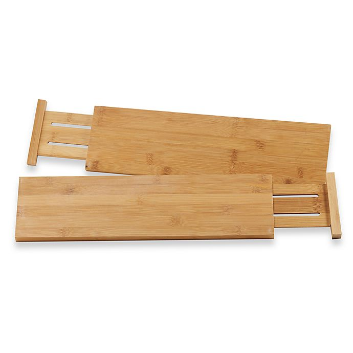 View A Larger Version Of This Product Image Click To Zoom Alternate 1 For Lipper International Bamboo Kitchen Drawer Dividers