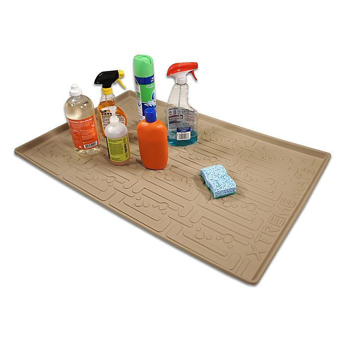 Kitchen Cabinet Mats: Xtreme Mats Under Sink Bathroom Cabinet Mat
