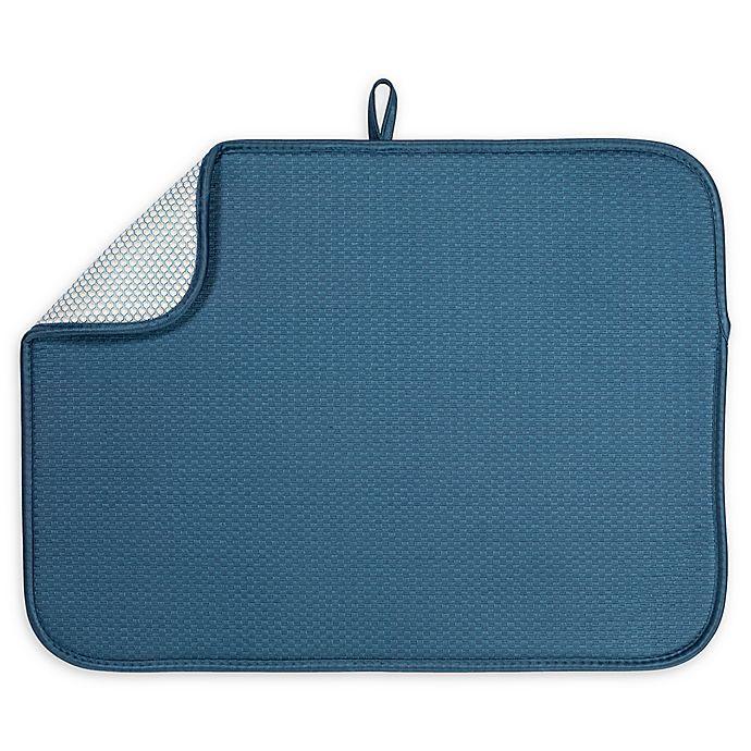 Alternate image 1 for The Original™ XL Dish Drying Mat in Cornflower