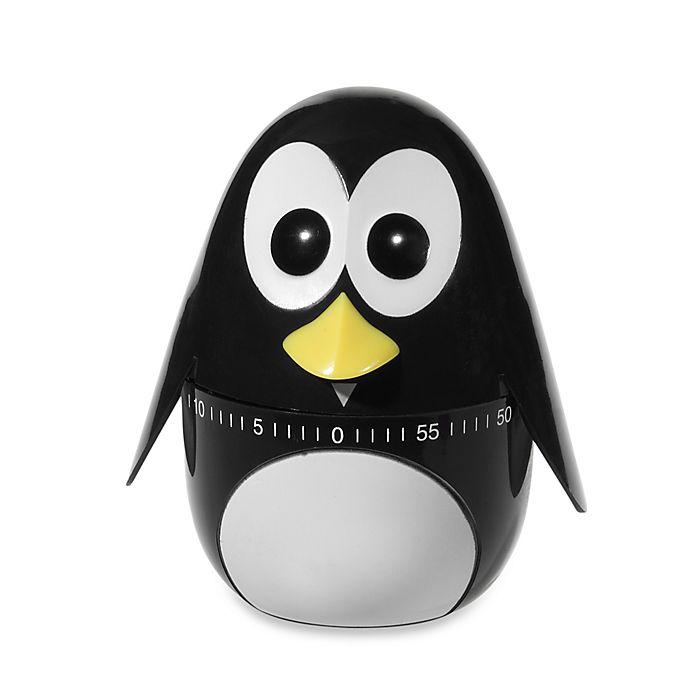 Alternate image 1 for Kikkerland® Penguin Kitchen Timer