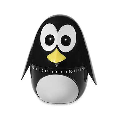 Kikkerland® Penguin Kitchen Timer