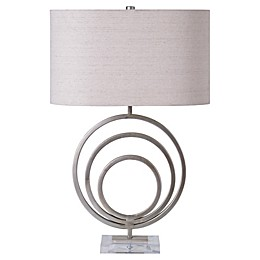 Ren-Wil Table Lamp in Silver