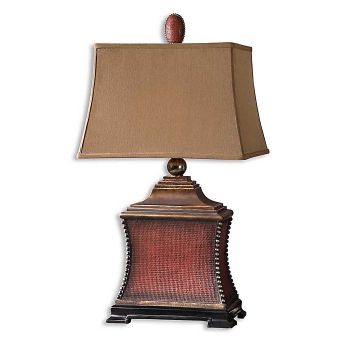 Alternate image 1 for Uttermost Pavia Table Lamp in Red