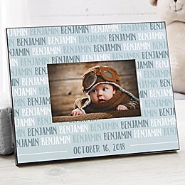 Modern Baby Personalized Picture Frame