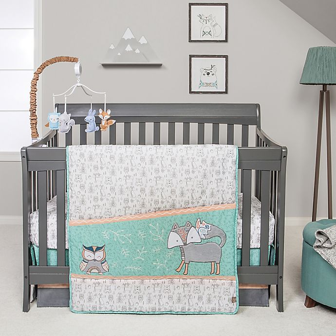 Alternate image 1 for Trend Lab® Sawyer 3-Piece Crib Bedding Set
