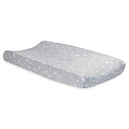 Lambs & Ivy® Milky Way Changing Pad Cover in Grey/White