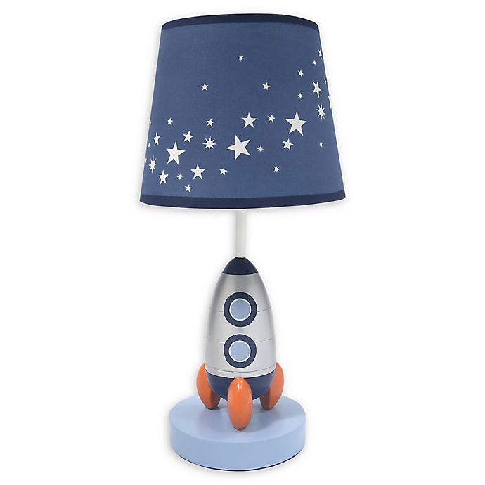 Alternate image 1 for Lambs & Ivy® Milky Way Table Lamp in Blue